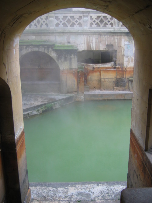 another of the bath's pools